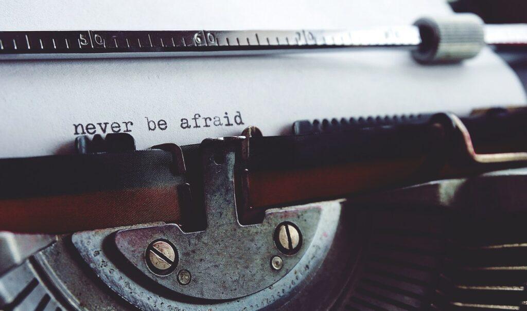 escribiendo compasivamente no tengas miedo